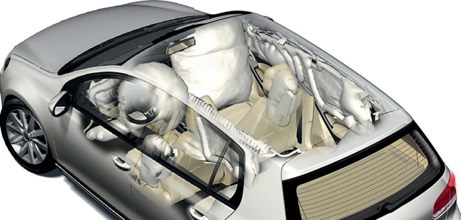 Protection Airbags habitacle